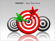 Target PPT Diagrams & Chart