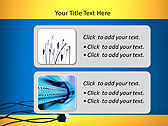USB Computer Connection Animated PowerPoint Template - Slide 9