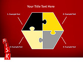 Red Colored Risk Bricks Animated PowerPoint Template - Slide 11