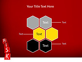 Red Colored Risk Bricks Animated PowerPoint Template - Slide 12