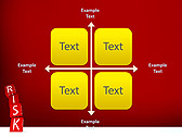 Red Colored Risk Bricks Animated PowerPoint Template - Slide 15