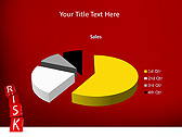 Red Colored Risk Bricks Animated PowerPoint Template - Slide 18
