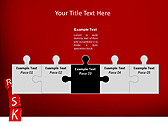Red Colored Risk Bricks Animated PowerPoint Template - Slide 19
