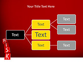 Red Colored Risk Bricks Animated PowerPoint Template - Slide 22