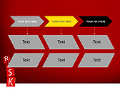 Red Colored Risk Bricks Animated PowerPoint Template - Slide 25