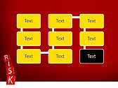 Red Colored Risk Bricks Animated PowerPoint Template - Slide 26