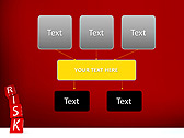Red Colored Risk Bricks Animated PowerPoint Template - Slide 27
