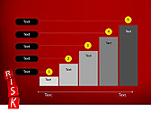 Red Colored Risk Bricks Animated PowerPoint Template - Slide 33