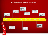 Red Colored Risk Bricks Animated PowerPoint Template - Slide 6