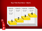 Red Colored Risk Bricks Animated PowerPoint Template - Slide 7