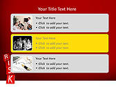 Red Colored Risk Bricks Animated PowerPoint Template - Slide 8