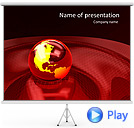 Stereo Universal System Animated PowerPoint Template