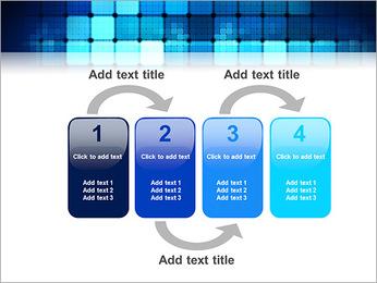 Blue Squares Abstraction Modèles des présentations  PowerPoint - Diapositives 11