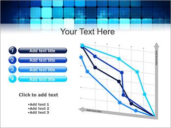 Blue Squares Abstraction Modèles des présentations  PowerPoint - Diapositives 13