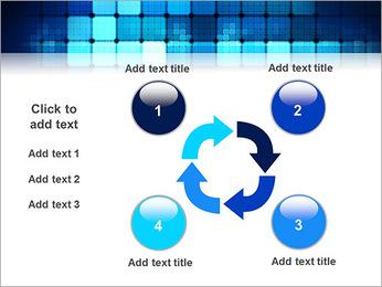 Blue Squares Abstraction Modèles des présentations  PowerPoint - Diapositives 14