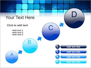 Blue Squares Abstraction Modèles des présentations  PowerPoint - Diapositives 15