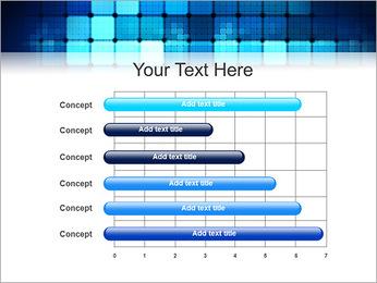 Blue Squares Abstraction Modèles des présentations  PowerPoint - Diapositives 17