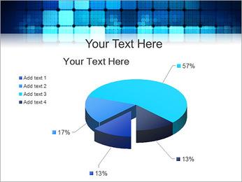 Blue Squares Abstraction Modèles des présentations  PowerPoint - Diapositives 19