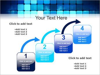 Blue Squares Abstraction Modèles des présentations  PowerPoint - Diapositives 20