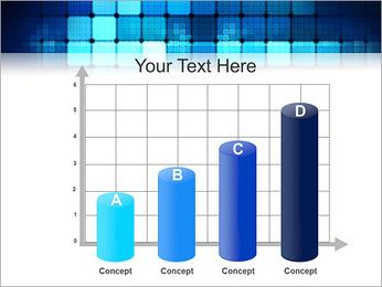 Blue Squares Abstraction Modèles des présentations  PowerPoint - Diapositives 21