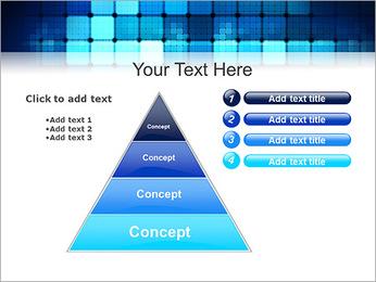 Blue Squares Abstraction Modèles des présentations  PowerPoint - Diapositives 22