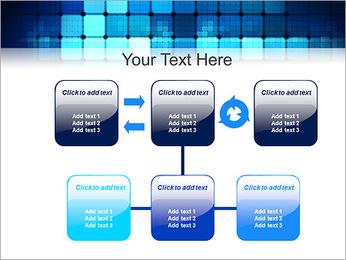 Blue Squares Abstraction Modèles des présentations  PowerPoint - Diapositives 23