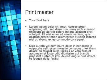 Blue Squares Abstraction Modèles des présentations  PowerPoint - Diapositives 24