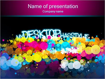 Mon bureau a du style Modèles des présentations  PowerPoint
