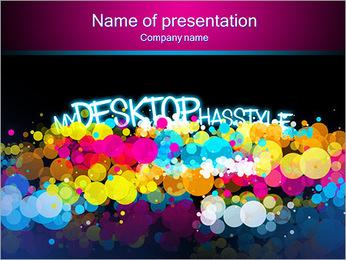 Mon bureau a du style Modèles des présentations  PowerPoint - Diapositives 1