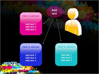 Mon bureau a du style Modèles des présentations  PowerPoint - Diapositives 12