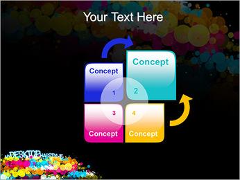 Mon bureau a du style Modèles des présentations  PowerPoint - Diapositives 5