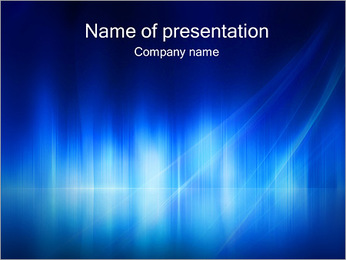 Abstract Blue Design PowerPoint Template