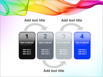 IPad On Abstract Background PowerPoint Templates - Slide 11
