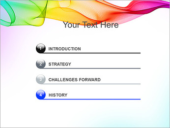 IPad On Abstract Background PowerPoint Templates - Slide 3