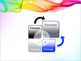 IPad On Abstract Background PowerPoint Templates - Slide 5