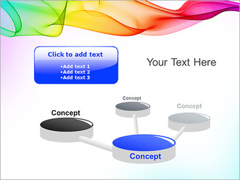 IPad On Abstract Background PowerPoint Templates - Slide 9