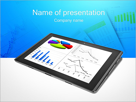 Chart on ipad screen powerpoint template backgrounds google chart on ipad screen powerpoint template toneelgroepblik Image collections
