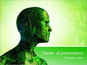 Development Of High Technology PowerPoint Template