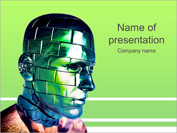 Creative Robot PowerPoint Template
