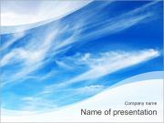 High In The Sky PowerPoint Templates