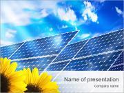 Solar Panel PowerPoint Templates
