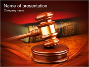 Judge Hammer PowerPoint Templates
