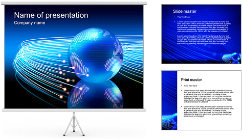 Universal Connection PowerPoint Template