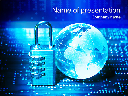 information security powerpoint template backgrounds google