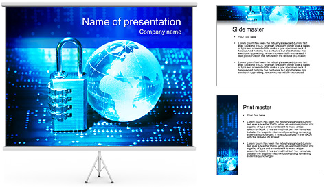 Information security powerpoint template cyber security powerpoint information security powerpoint template backgrounds id information security powerpoint template toneelgroepblik Choice Image