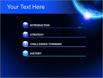 Conception cosmique Modèles des présentations  PowerPoint - Diapositives 3