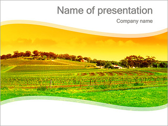 Countryside Landscape PowerPoint Template