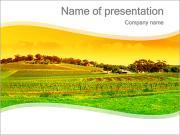 Campagne Paysage Modèles des présentations  PowerPoint