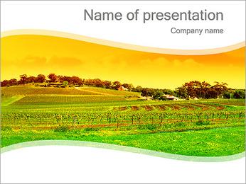 Campagne Paysage Modèles des présentations  PowerPoint - Diapositives 1
