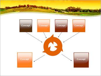 Campagne Paysage Modèles des présentations  PowerPoint - Diapositives 10